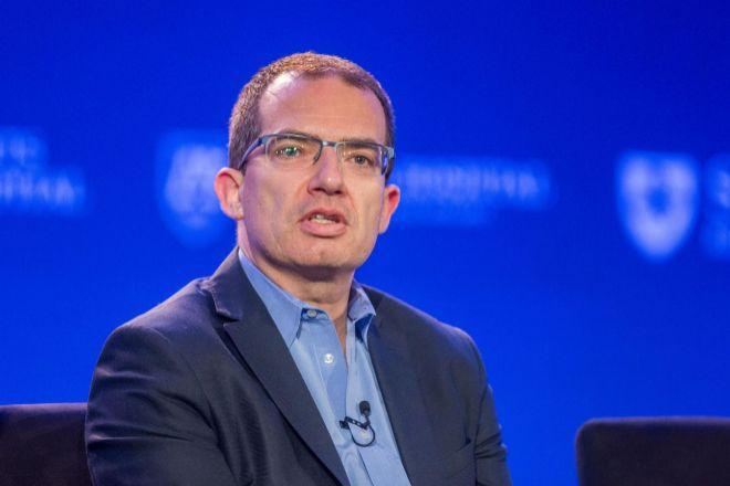 Stephane Bancel, presidente ejecutivo de Moderna, en una imagen de archivo.