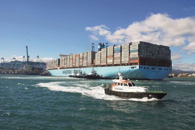 La dársena del Estrecho registró en 2020 un tráfico ferroviario de 21.064 teus (medida de capacidad equivalente a un contenedor de 20 pies).