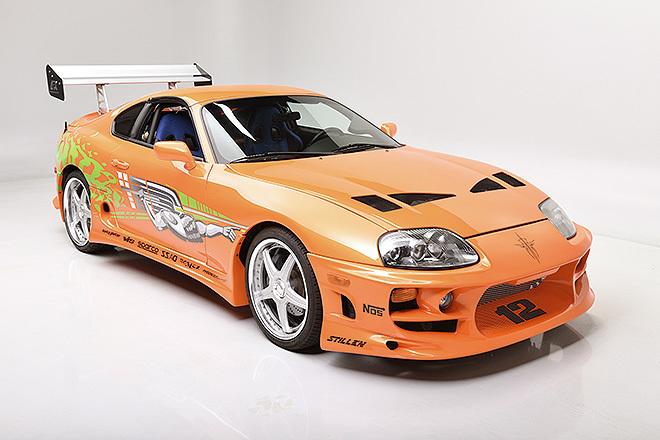 El coche fue personalizado para la película por el especialista Eddie Paul.