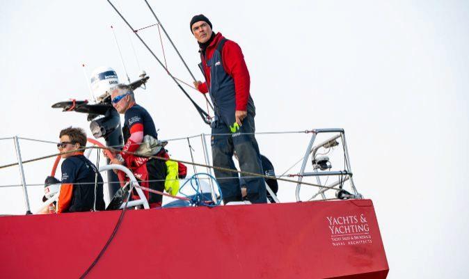 Bekking, a la popa del Sailing Poland. | THE OCEAN RACE