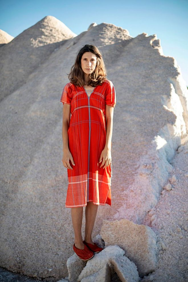 Vestido de algodón, 280 euros.