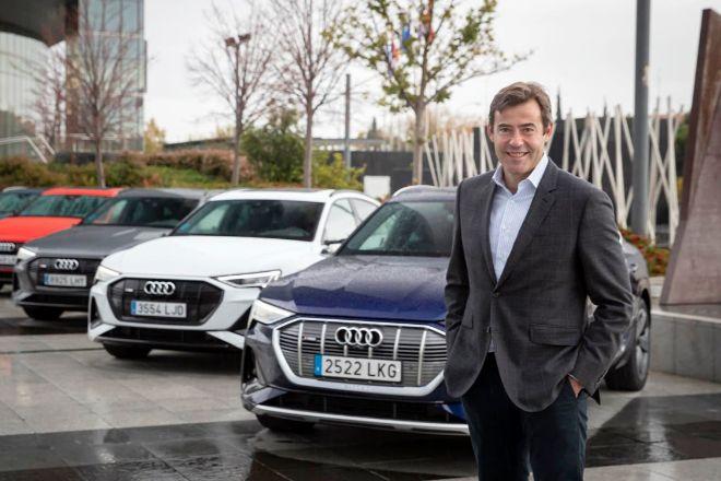 El director de Audi en España José Miguel Aparicio.
