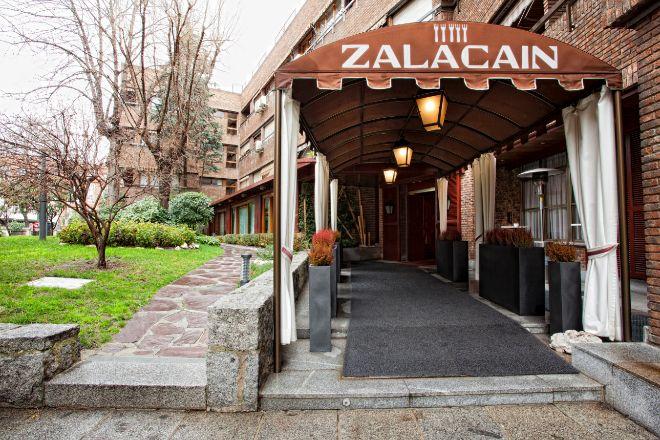 Restaurante Zalacaín, en Madrid.