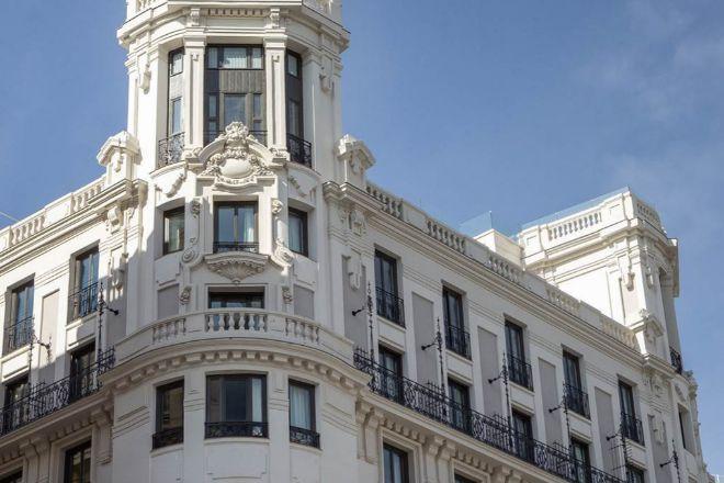 El hotel Pestana CR7 Gran Vía Madrid, el primero que abre el futbolista en España
