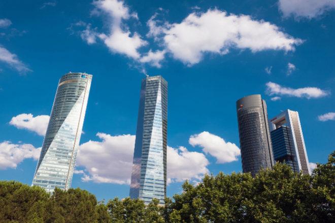 Complejo de las Cuatro Torres de Madrid.