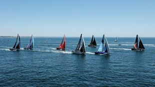 La flota de The Ocean Rce Europe, saliendo de Cascais. | SAILING...
