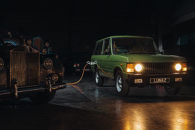 Un Range Rover clásico electrificado, con un precio de unos 278.000 euros.