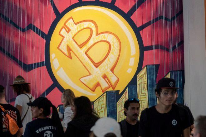 Imagen de la convención sobre el bitcoin celebrada esta semana en Florida (EEUU)