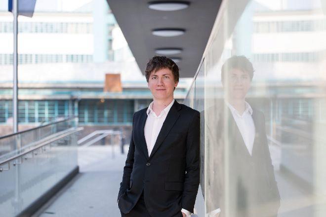 El consejero delegado y fundador de Blockpit, Florian Wimmer.