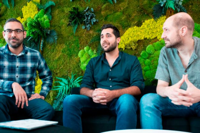 Ricardo Gasperini, Federico Zomeño y David Pastor Calle, fundadores de Analyticalls