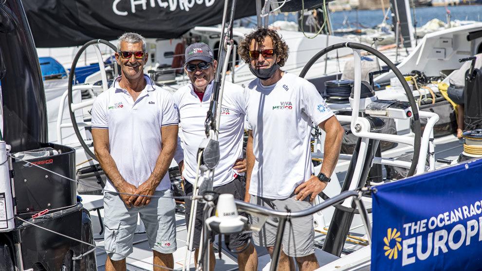 Jaime Arbones, Juan Vila y Chuny Bermúdez de Castro en Alicante.
