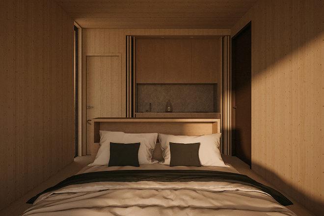 Dormitorio de Liten.
