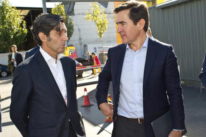 José María Álvarez-Pallete y Carlos Torres, presidentes de Telefónica y BBVA, respectivamente.