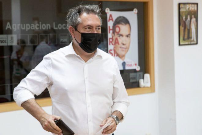 El alcalde de Sevilla Juan Espadas.