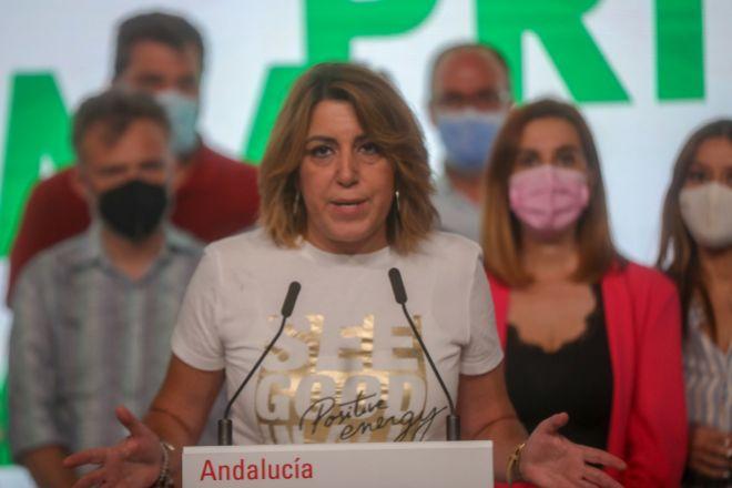 La secretaria general del PSOE-A Susana Dïaz.
