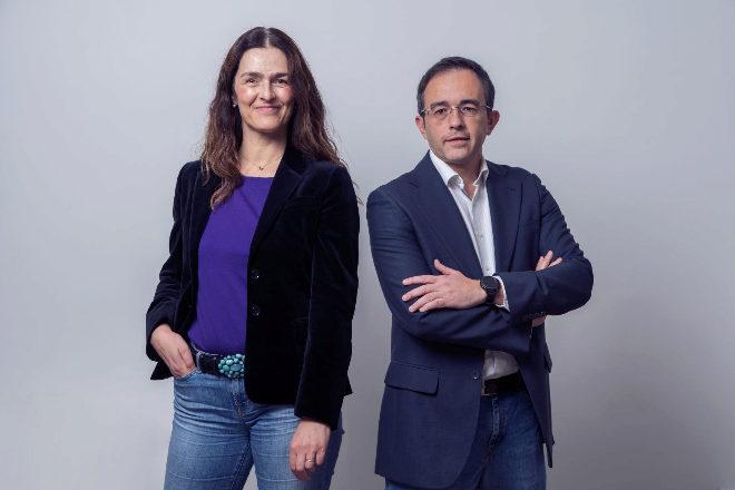 Linda Facchinetti, CEO, y Gustavo Díaz, CTO de Jump Into Reality.