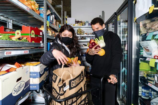 Gorillas, el gigante europeo de los supermercados fantasma, llega a España