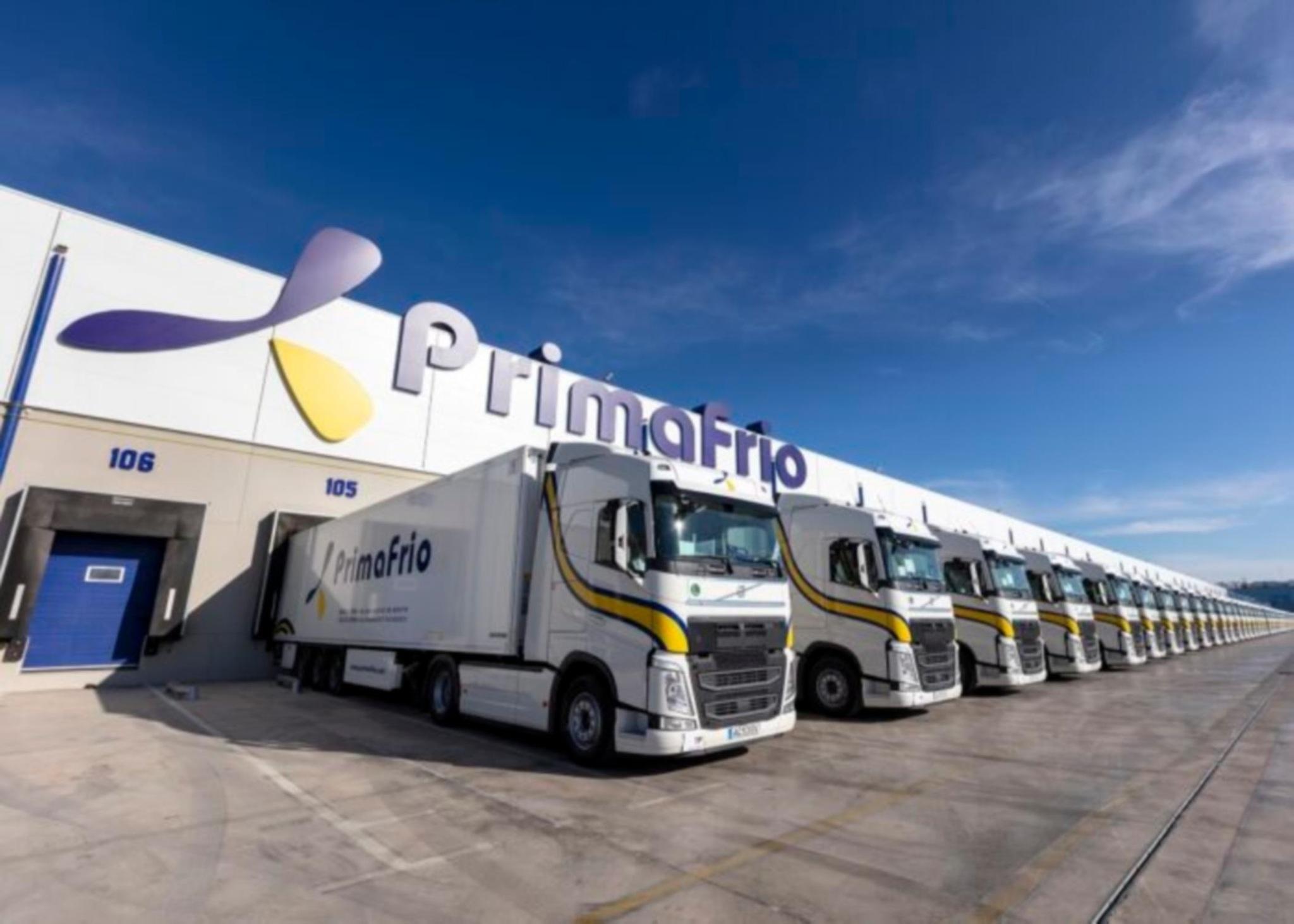 Primafrio lidera el transporte refrigerado de vegetales por carretera.