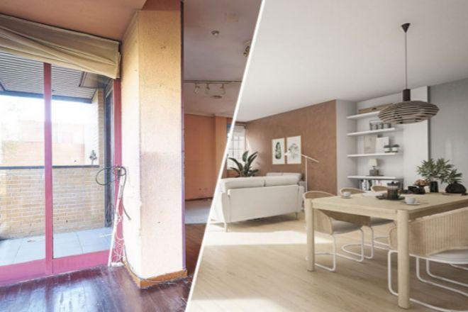 Comprar un piso para reformar cuesta un 25% menos que uno en buen estado