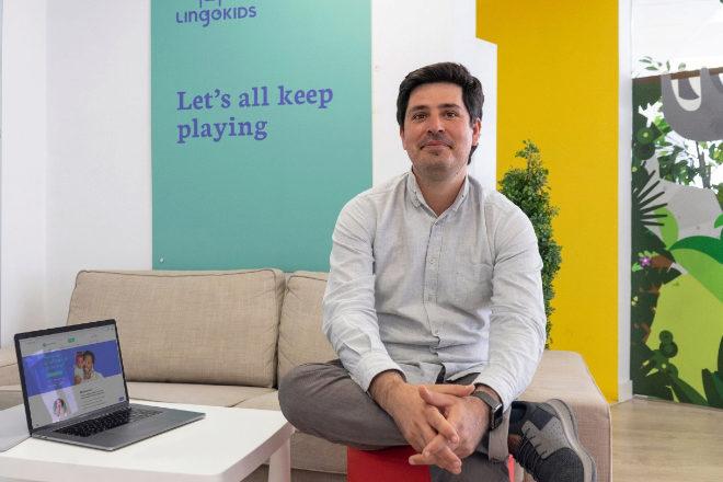 Cristóbal Viedma, CEO de Lingokids.