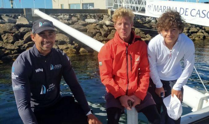Willy Altadill, Simbad Quiroga y Carlos Bermúdez de Castro. | TOR