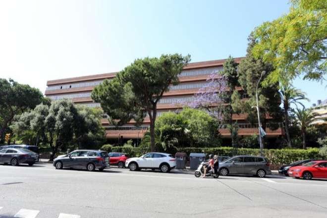 La sede del departamento de Educación, en Via Augusta, 202, en Barcelona.