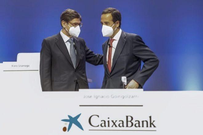 La fusión CaixaBank-Bankia dispara el beneficio de las cotizadas catalanas
