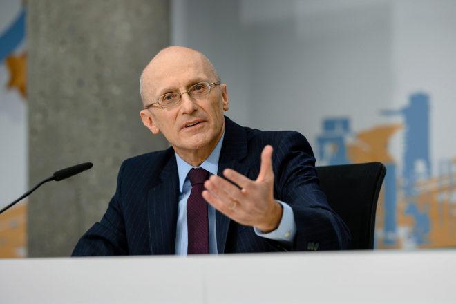 Andrea Enria, responsable de Supervisión del BCE.