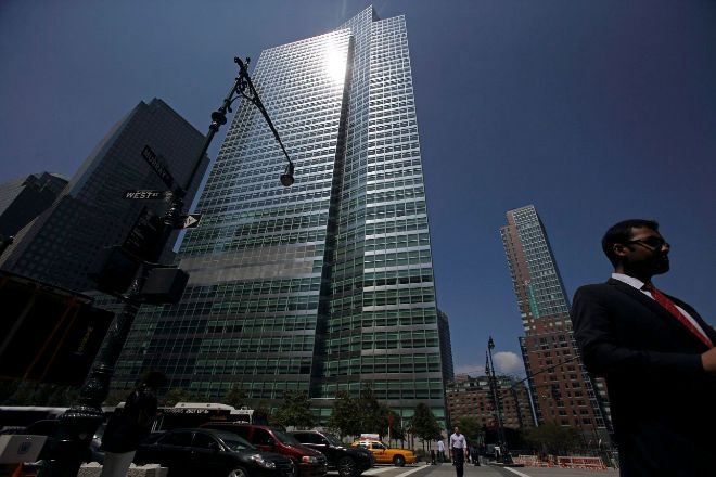 Sede de Goldman Sachs en Nueva York en el 200 West Street.