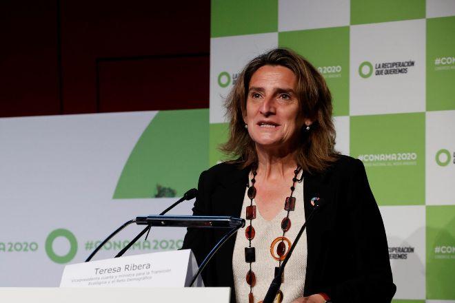 La vicepresidenta cuarta para la Transición Ecológica y el Reto Demográfico, Teresa Ribera