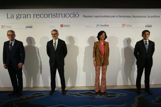 """Botín: """"Nos vamos a salir del mapa: España puede crecer entre un 8% y un 9%"""""""