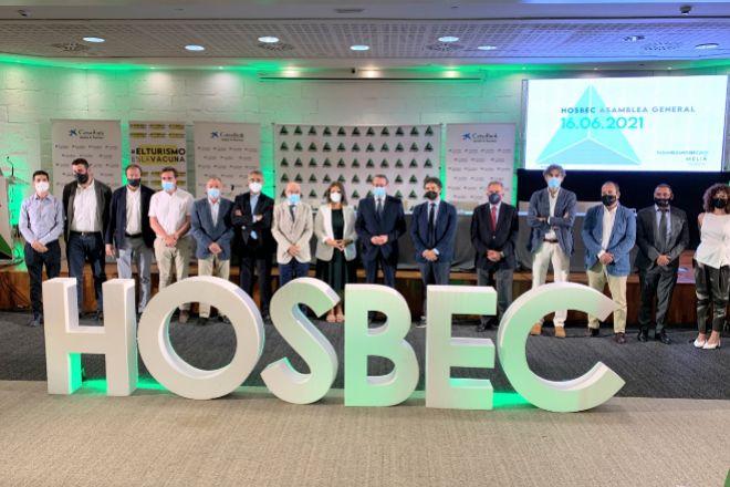 La patronal autonómica Hosbec ha celebrado su asamblea general.