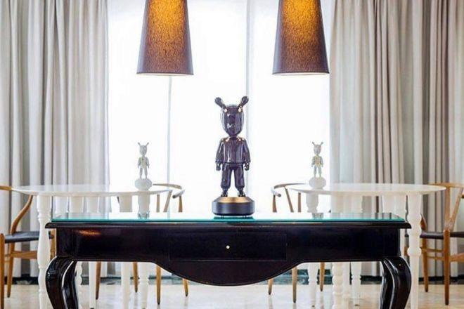 Una mesa en Quique Dacosta Restaurante, octavo del 'Top 150' de alta cocina.