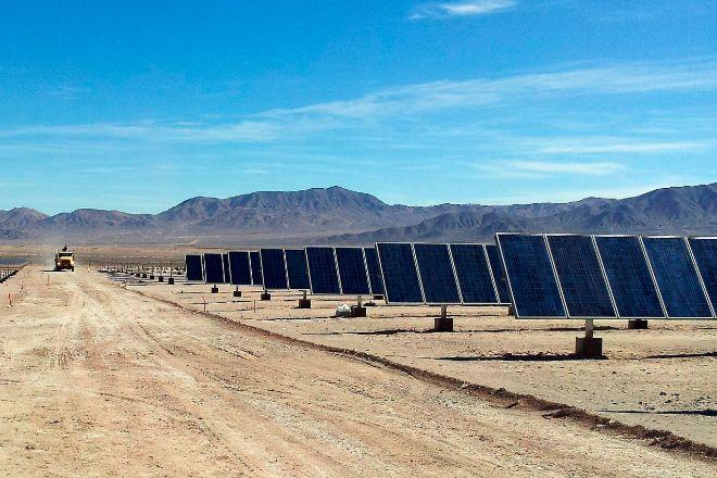 Planta solar propiedad de Solarpack.