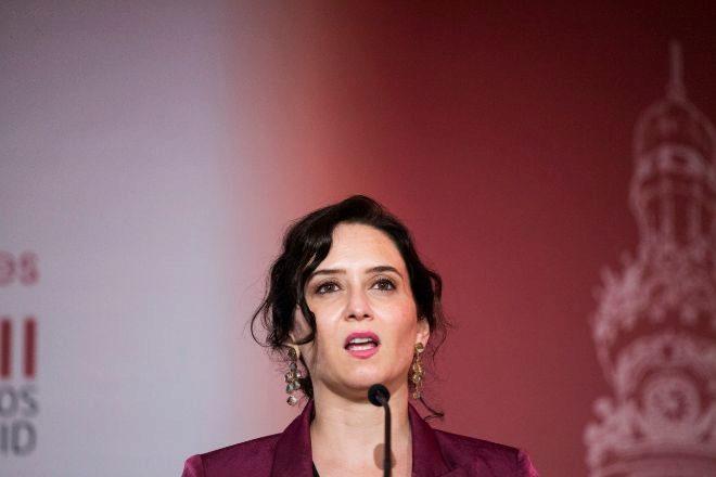 Isabel Díaz Ayuso, presidenta de la Comunidad de Madrid en funciones.