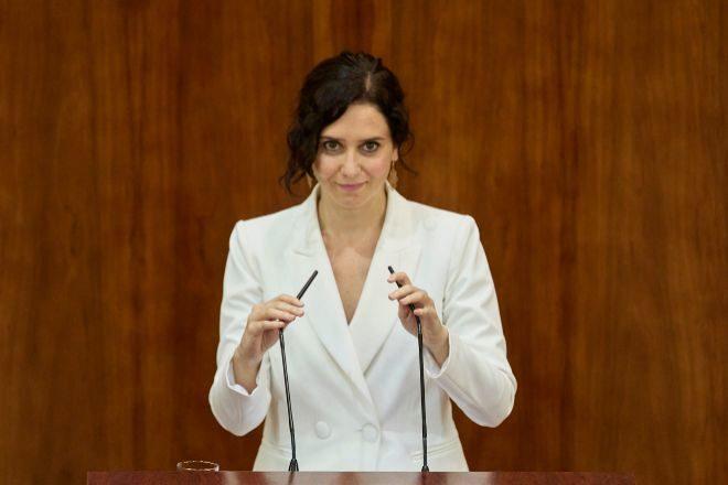 Ayuso anuncia la mayor bajada del IRPF de la historia en Madrid para impulsar la reactivación