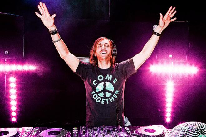 El DJ David Guetta durante una de sus actuaciones.