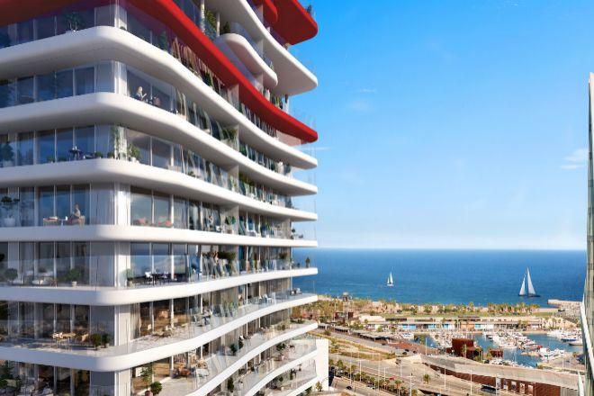 Antares, proyecto de súper lujo en Barcelona.