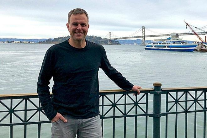 Eduardo Vilar en San Francisco, ciudad donde fundó Returnly en 2014.