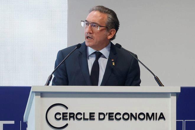 El <em>conseller </em>de Economía y Hacienda, Jaume Giró, un independiente designado a propuesta de Junts y que fue director general de la Fundación Bancaria La Caixa entre 2004 y 2019.