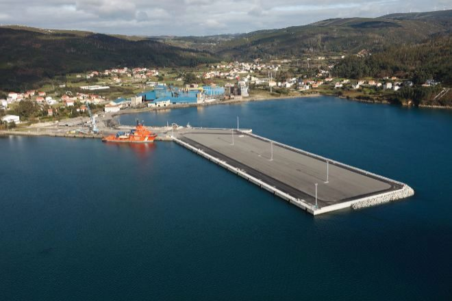 Fábrica de Ferroglobe Cee (A Coruña).