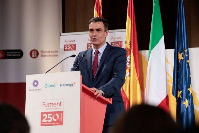 El presidente del Gobierno, PedroSánchez.