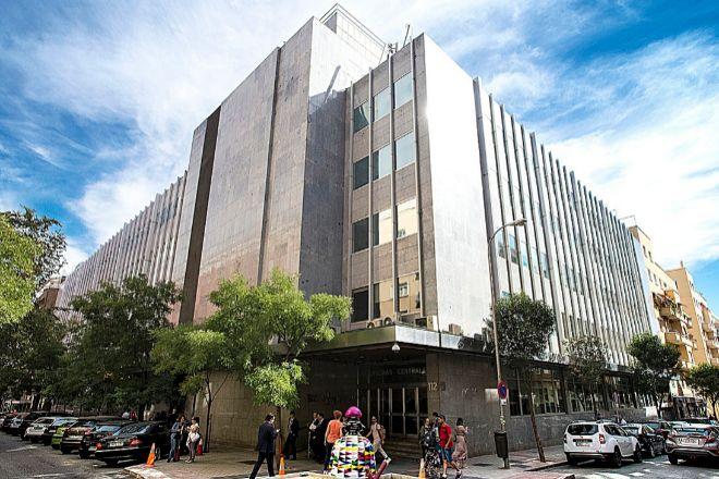 Oficinas Centrales El Corte Inglés en la calle Hermosilla de Madrid.