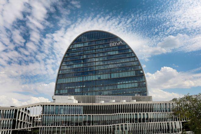 Sede operativa de BBVA en Madrid.