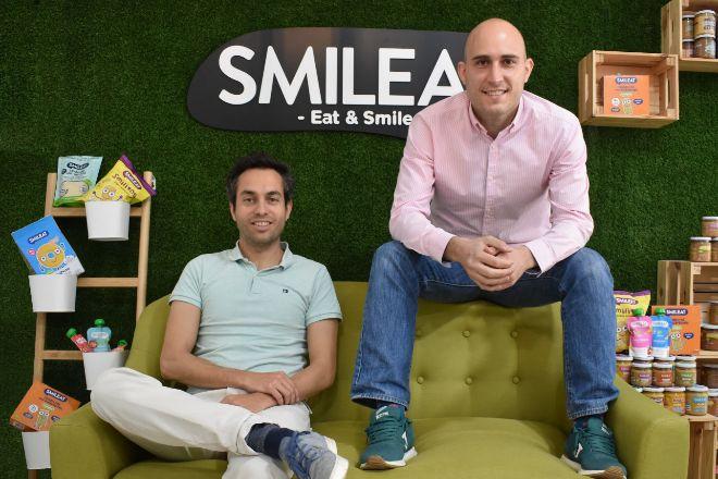 Alberto Jiménez San Mateo y Javier Quintana Arranz, fundadores de Smileat.