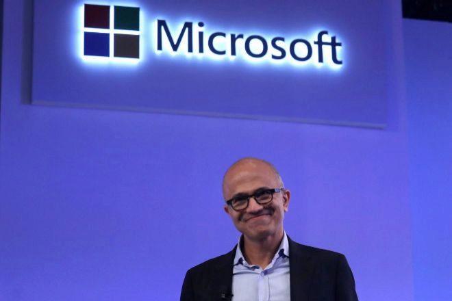 El consejero delegado de Microsoft, Satya Nadella, uno de los mejor valorados.