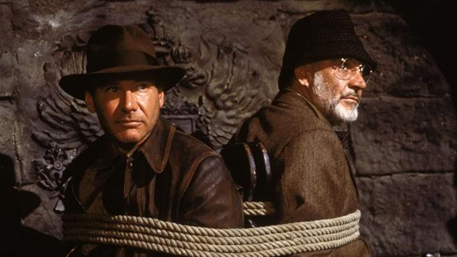 'Indiana Jones y la última cruzada', una de tantas grandes películas del gran Spielberg.