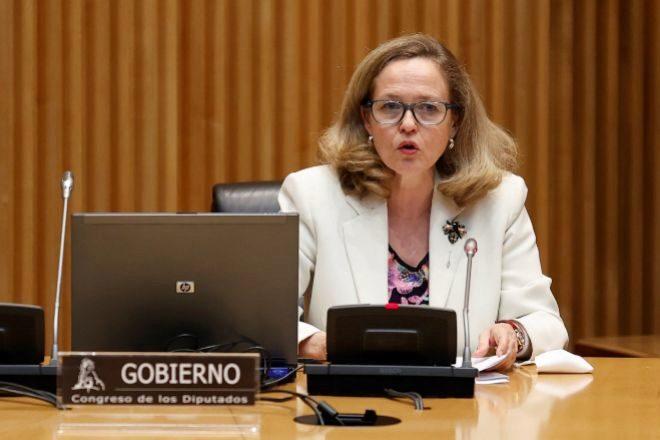 La vicepresidenta segunda y ministra de Asuntos Económicos, Nadia Calviño.