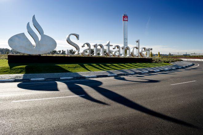 Sede corporativa de Santander en Boadilla del Monte (Madrid).