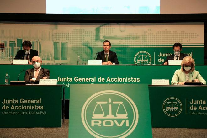 Junta de accionistas de Rovi.